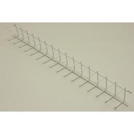 Вешалка для галстуков (стеллаж-стена) 52 см Белая