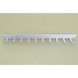 Боковые крючки (10) 40 см, белые