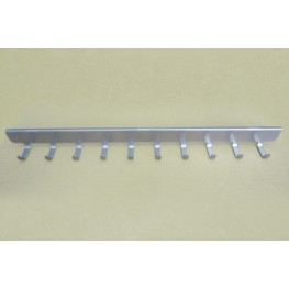 Боковые крючки (10) 40 см, платина