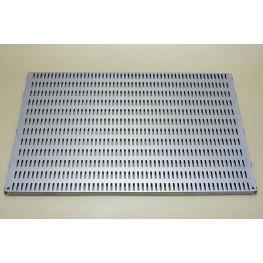 Перфорированная панель 60 х 38 см платина