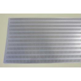 Перфорированная панель 90 х 38 см платина
